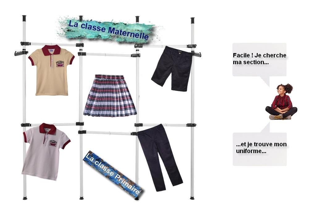 Uniforme des classes maternelles et primaires